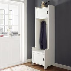 Fremont Entryway Tower In Distressed White