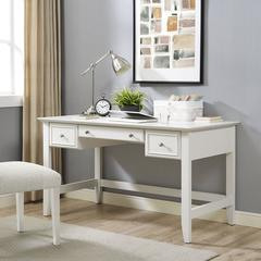 Campbell Computer Desk in White