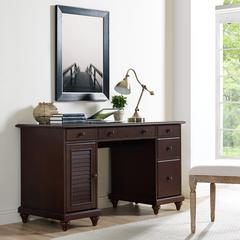 Palmetto Computer Desk in Espresso Finish