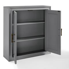 Tara Wall Cabinet In Vintage Grey