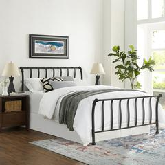 Raleigh King Metal Headboard  And Footboard