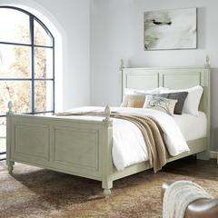Bourdeaux  Queen Bedset In Sage