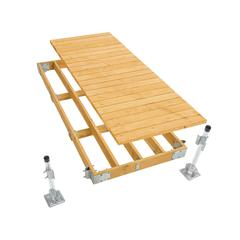 Commercial Grade Stationary Dock Kit - 4'x10'