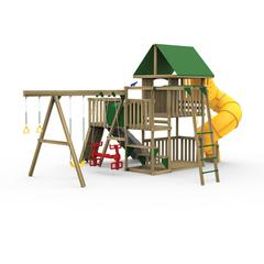 Great Escape Ready to Assemble Gold Play Set