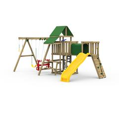 Varsity Factory Built Silver Play Set