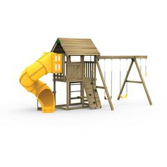 All Pro Factory Built Silver Play Set