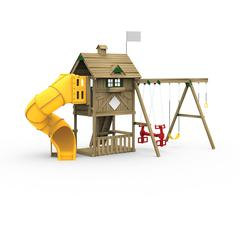 Grand Slam Factory Built Silver Play Set