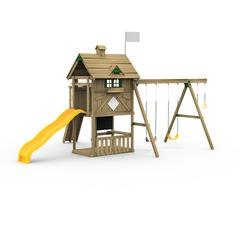 Grand Slam Factory Built Bronze Play Set