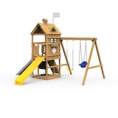 Trainer Factory Built Silver Play Set