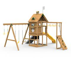 Contender Factory Built Silver Play Set