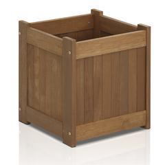 Tioman Hardwood Flower Box in Teak Oil