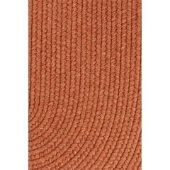 "Solid Terra Cotta Wool 18"" x 36"" Slice"