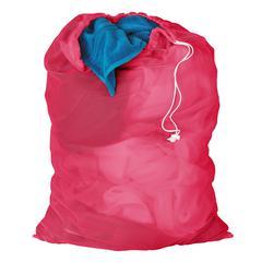 Honey Can Do 2-Pk, Mesh Laundry Bag, 24 X 36Pink