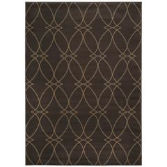 PISA 3'3 X 4'11 3783 Rug, Brown