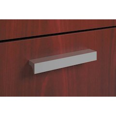 Field Installed Contemporary Pull | Silver | 2-Pack