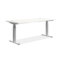 "HON Coordinate Table Base | 3 Stage Columns |24""D Feet"
