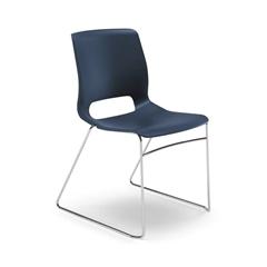 HON Motivate High-Density Stacking Chair   Regatta Shell   4 per Carton