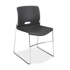 HON Olson High-Density Stacking Chair | Lava Shell | 4 per Carton