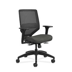 HON Solve Mid Back Task Chair | Mesh Back | Ink Fabric