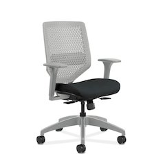 HON Solve Mid Back Task Chair | Reactiv Back | Ink Fabric