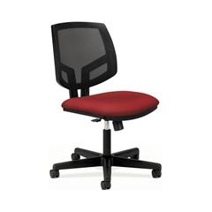 HON Volt Mesh Back Task Chair   Synchro-Tilt, Tension, Lock   Crimson Fabric
