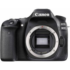 EOS 80D Digital Camera (Body Only)