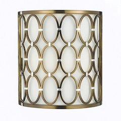 Cosmo Wall Sconce- Satin Brass