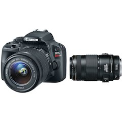EOS Rebel SLI with EF-S 18-55mm IS and 75-300mm Lenses