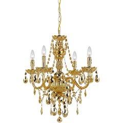 Naples Four-Light Mini Chandelier - Gold