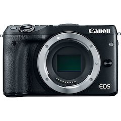 EOS M3 Black Digital Camera Body Only