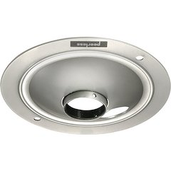Ceiling Plate - Round Silver
