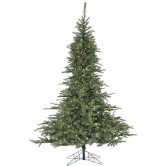 7.5 Ft. Cluster Pine Christmas Tree with Smart String Lighting