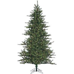 7 Ft. Southern Peace Pine Christmas Tree with Clear LED Lighting
