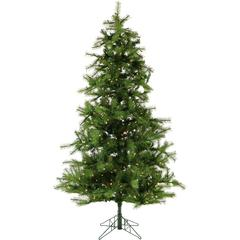 9 Ft. Southern Peace Pine Christmas Tree with Clear LED Lighting
