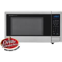 1.1 CF Touch Microwave, 1000W, Blue LED Display