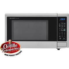 1.4 CF Microwave, 1000W, Sensor Cooking, Blue LED Display