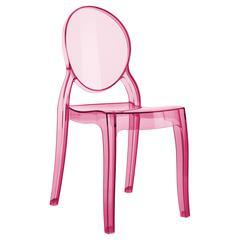 Baby Elizabeth Kids Chair Transparent Pink