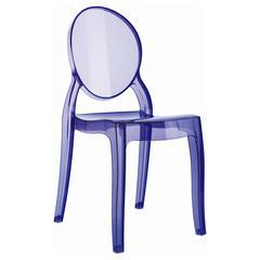 Baby Elizabeth Kids Chair Transparent Violet