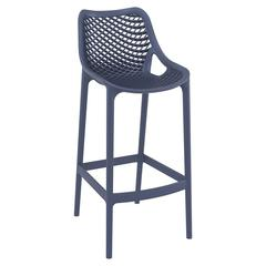 Air Bar Stool Dark Gray, Set of 2