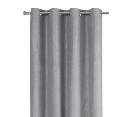 "Curtain Panel - 2Pcs / 52""W X 84""H Silver Room Darkening"