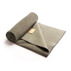 Bamboo Yoga Towel- Charcoal