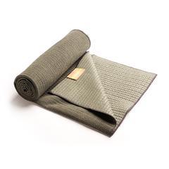 Hugger Mugger Bamboo Yoga Towel- Charcoal