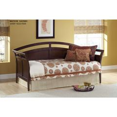 Watson Daybed w/Suspension Deck and Trundle, Espresso