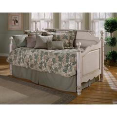 Wilshire Daybed w/Suspension Deck and Trundle, Antique White