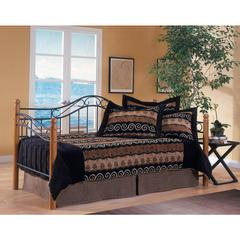 Winsloh Daybed - Suspension Deck Not Included, Medium Oak/Black