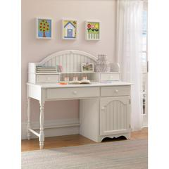 Westfield Desk and Hutch, Off White