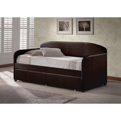Springfield Daybed w/Trundle - Brown,