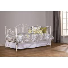 Ruby Daybed - Suspension Deck Not Included, Textured White