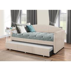 Westchester Daybed with Trundle - Fog Fabric,