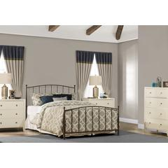 Warwick Bed Set - Full - Metal Bed Frame Included